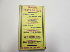 Good - famous plays of 1936 - various 1936-01-01 Foxing/tanning to edges and/or