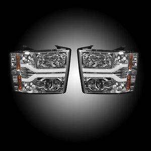 RECON 264195CLC 07-13 Chevrolet Silverado 2nd Gen Single-Wheel Clear-Chrome