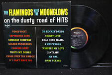 The Flamingos Meet The Moonglows - On The Dusty Road of Hits on VeeJay LP 1052