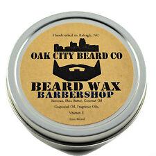 Oak City Beard Co. - (BarberShop) Beard Wax - All Natural - 2oz