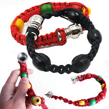 2017 Metal Bracelet Cigarette Pipe Tobacco Smoking Pipe Color Gift  Novelty Red