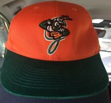 OC Sports Youth Minor League Baseball Cap Orange&Green Greensboro Grasshoppers