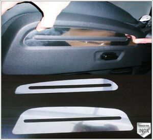 Chrome Seat Side Trim 2 pcs S.STEEL For Dodge NITRO 2006 onwards
