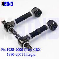 Rear Camber ARM Kit For 88-00 CRX Civic 90-01 Civic EG EK INTEGRA BK