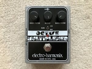 Electro Harmonix Octave Guitar Pedal