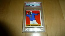 1948 Leaf Football 26 Bob Waterfield PSA 5 EX RC Rookie Card Black Name On Front
