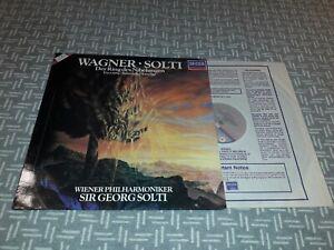 SXDL 7612 Wagner Der Ring des Nibelungen highlights / VPO / Solti