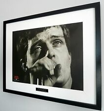 Ian Curtis/Joy Division Framed Original NME-Plaque-Certificate-NEW-RARE