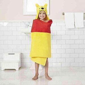 Disney Jumping Beans Winnie the Pooh Bear Hooded Bath Towel Wrap for Kids NEW