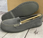 Sperry Top-Sider Women's Coil Mia Suede Boat Shoes Dark Grey Size 5 New With Box