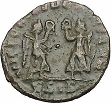 CONSTANTIUS II Constantine the Great son Ancient Roman Coin Victories  i50733