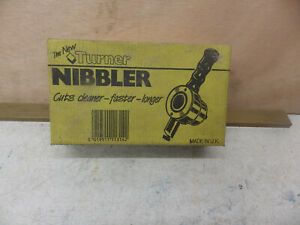 Turner Nibbler NIB Vintage sheet metal cutting tool model engineering engineer