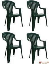 Sedie Verdi Di Plastica.Sedie Da Esterno In Plastica Acquisti Online Su Ebay
