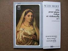 SCHUBERT: Piano violon violoncello trio n°1, D.898 > Stern Istomin Rose / CBS st