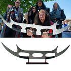 Massive 4 Ft. Replica Klingon Bat'Leth Sword Star Trek Batleth With Stand