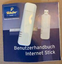 Tchibo Surf Stick Huawei  Internet dsl Mobiler Router + Benutzerhandbuch