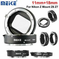 Meike MK-Z-AF1 11mm+18mm Macro Extension Tube Adapter Ring for Nikon Z6 Z7 Mount
