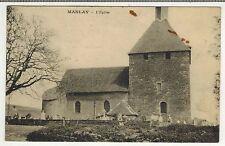 1927 - Carte Postale (Tache) - L'Eglise - 21.Manlay