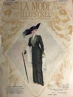 Edwardian MODE ILLUSTREE Oct 27,1912+ sewing PATTERN - Costumes, paletots