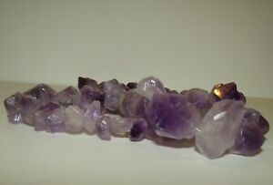 BEAUTIFUL, VINTAGE, NATURAL RAW AMETHYST NECKLACE