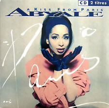 Abyale CD Single A Kiss From Paris - France (EX/EX)
