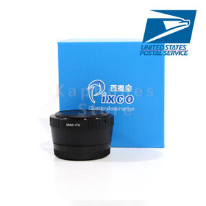 US SHIP Speed Booster Focal Reducer Lens Adapter For M42 To Fujifilm XCamera