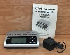 Genuine midland (wr-300) all hazards public alert weather radio w.