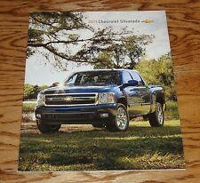 Original 2011 Chevrolet Silverado Truck Sales Brochure 11 Chevy