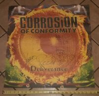 Corrosion Of Conformity Poster Deliverance COC signed full band w REED MULLIN
