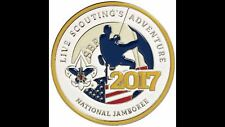 Boy Scout 2017 National Jamboree Full Color Commemorative BSA Challenge Coin New