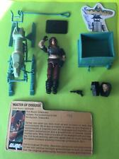 Vintage GI Joe 1984 ZARTAN V1 (Disguise Master) W CHAMELION 98% Comp File Card