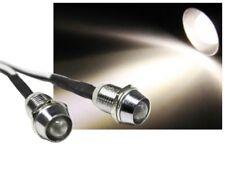 LED Spot Schraube Strahler Edelstahl 12V superhell 10000mcd warmweiss