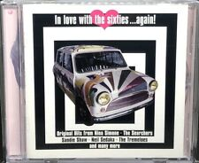 IN LOVE WITH THE SIXTIES...AGAIN! - VARIOUS ARTISTS, CD ALBUM, (1998).