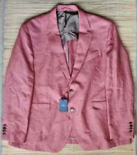 Hackett London men's Hopsack linen blazer - 100% linen, Modern Fit RRP £425