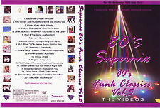 80's Funk Classics Vol.5 DVD Music Videos RARE 80s FUNK, R&B, DANCE, RETRO,POP