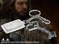 Thorin Oakenshield Keychain Of Key And Map Brand New Tolkien The Hobbit LOTR