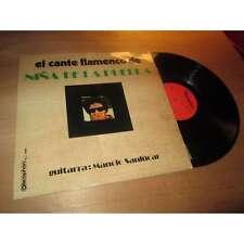 NINA DE LA PUEBLA / MANOLO SANLUCAR el cante flamenco DISCOPHON SPAIN Lp 70's
