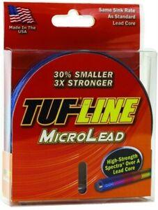 Tuf-Line ML15100 MicroLead Lead Core Spectra Braid Trolling Line 15lb 100yd Mete
