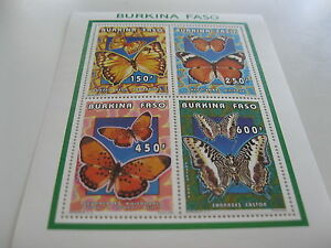 Burkina Faso-1996-fauna,flora-butterflies-klb.MI.1410-13A