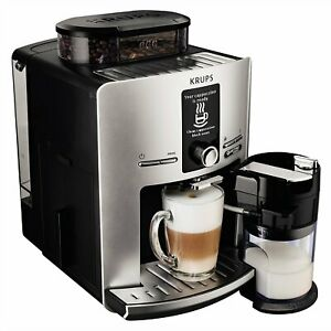 Krups EA82FE one-touch coffee machine silver, free shipping Worldwide