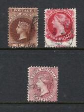 South Australia 1901-02 Qv Set - Used - Sc# 118-120 Cats $72.50