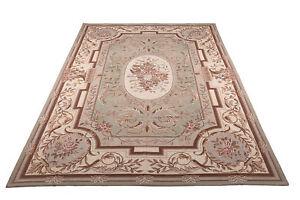 550x362 cm Needle point Classico Floreale Stile Francese Disegno Aubusson (Galle