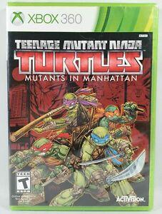 New XBOX 360 TMNT Ninja Turtles MUTANTS IN MANHATTAN Video Game SEALED 2016