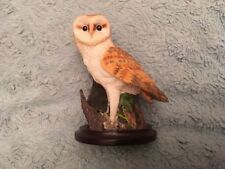 The Barn Owl The Country Bird Collection Sculpted By Andy Pearce