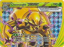 Chesnaught Break Ultra Rare Holo Pokemon Card XY BREAKThrough 12/162