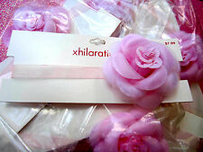 6 Bridal, Prom Pink Rose Choker Necklace Xhilaration