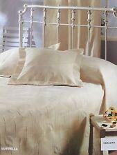 Blanket Bedspread Throw Jacquard Cotton - Polyester Single size 160x240 Ecru