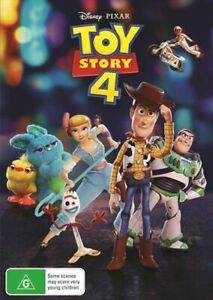 TOY STORY 4 (Disney Pixar) DVD Region 4 NEW & SEALED in Aus!