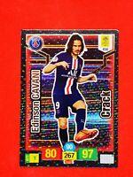 Carte Panini ADRENALYN XL Ligue 1 2019 - 2020 EDINSON CAVANI CRACK PSG Paris
