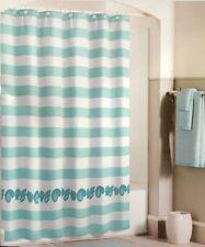 "Barnegat Cabana Fabric Shower Curtain Coastal Nautical Beach Summer House 72x72"""